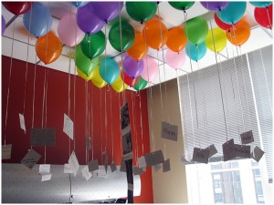 bdaySurprise 1 300x225 30+ Easy & Inexpensive Family Traditions