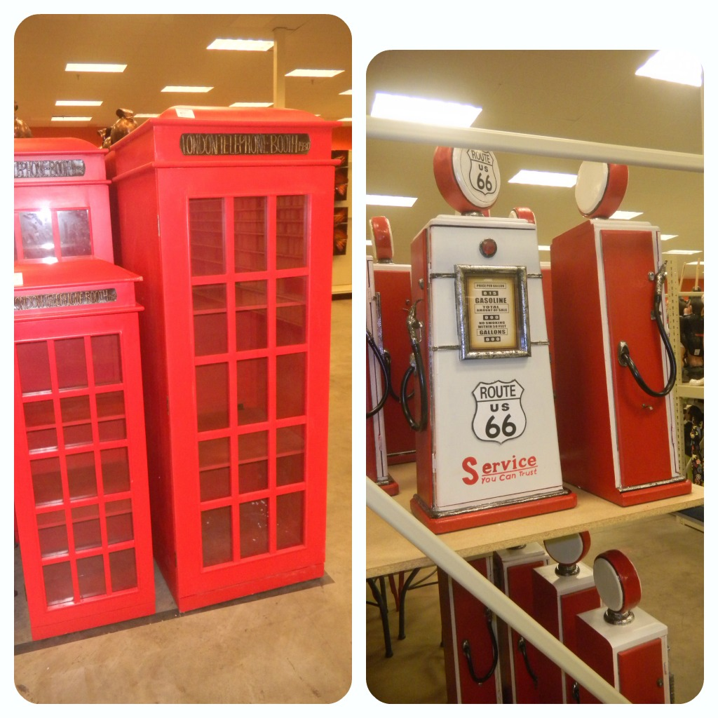 gardenridgephonebooth Garden Ridge Shopping Trip