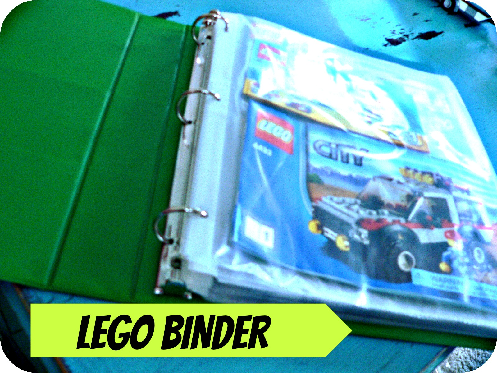 LEGOBINDER LEGO Manual Binder