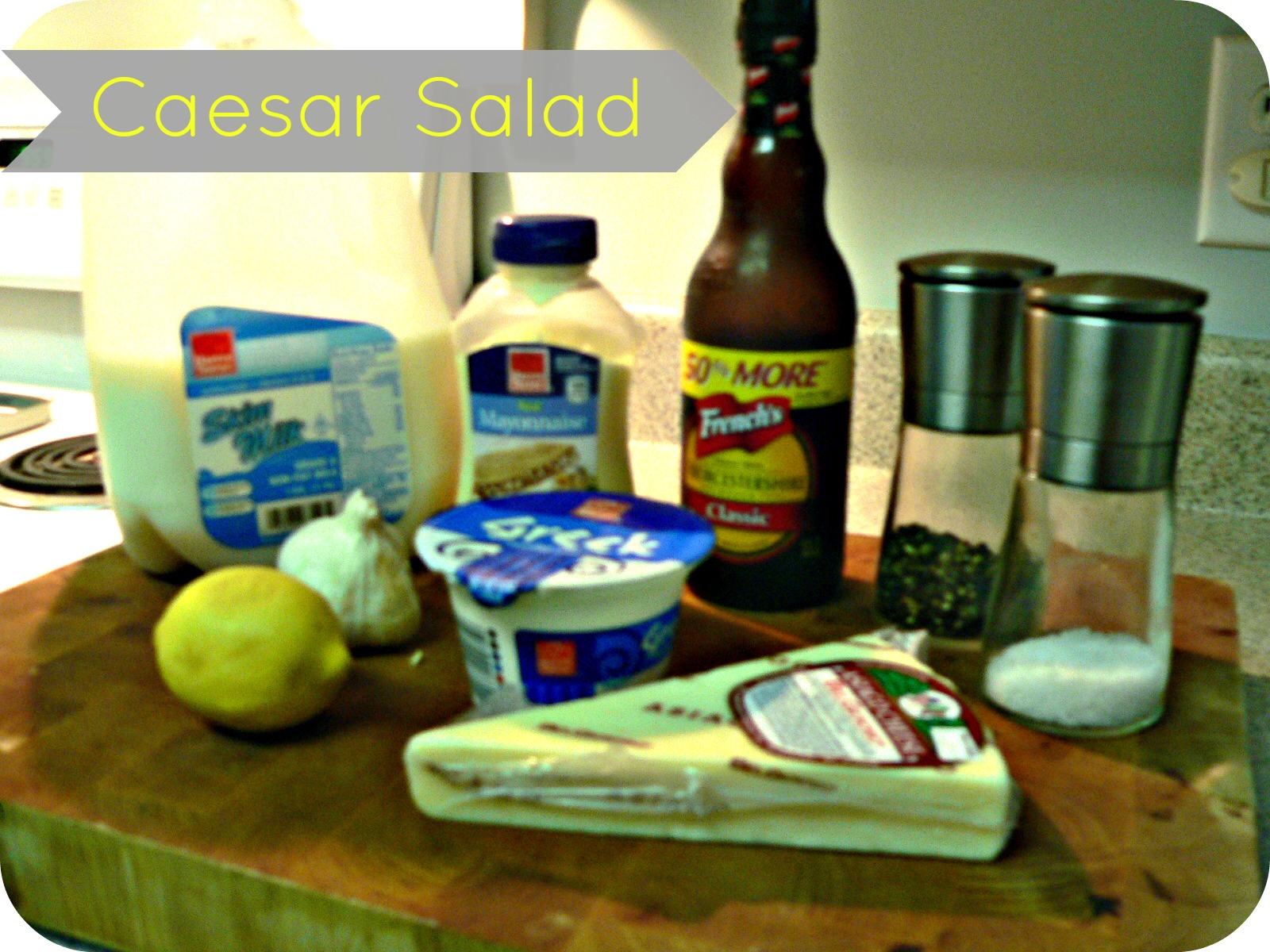 caesarsaladingredients Must Make, Low Fat Caesar Salad