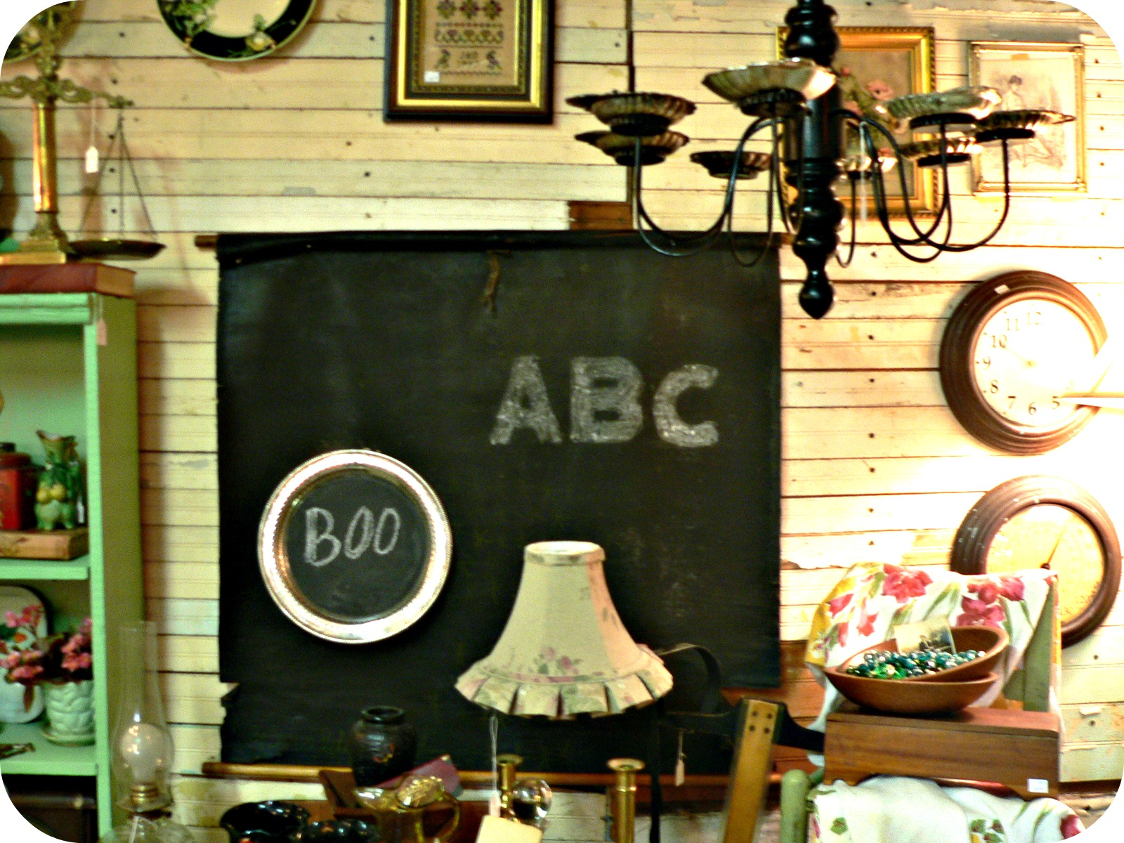 chalkboard Thrifting in Raleigh