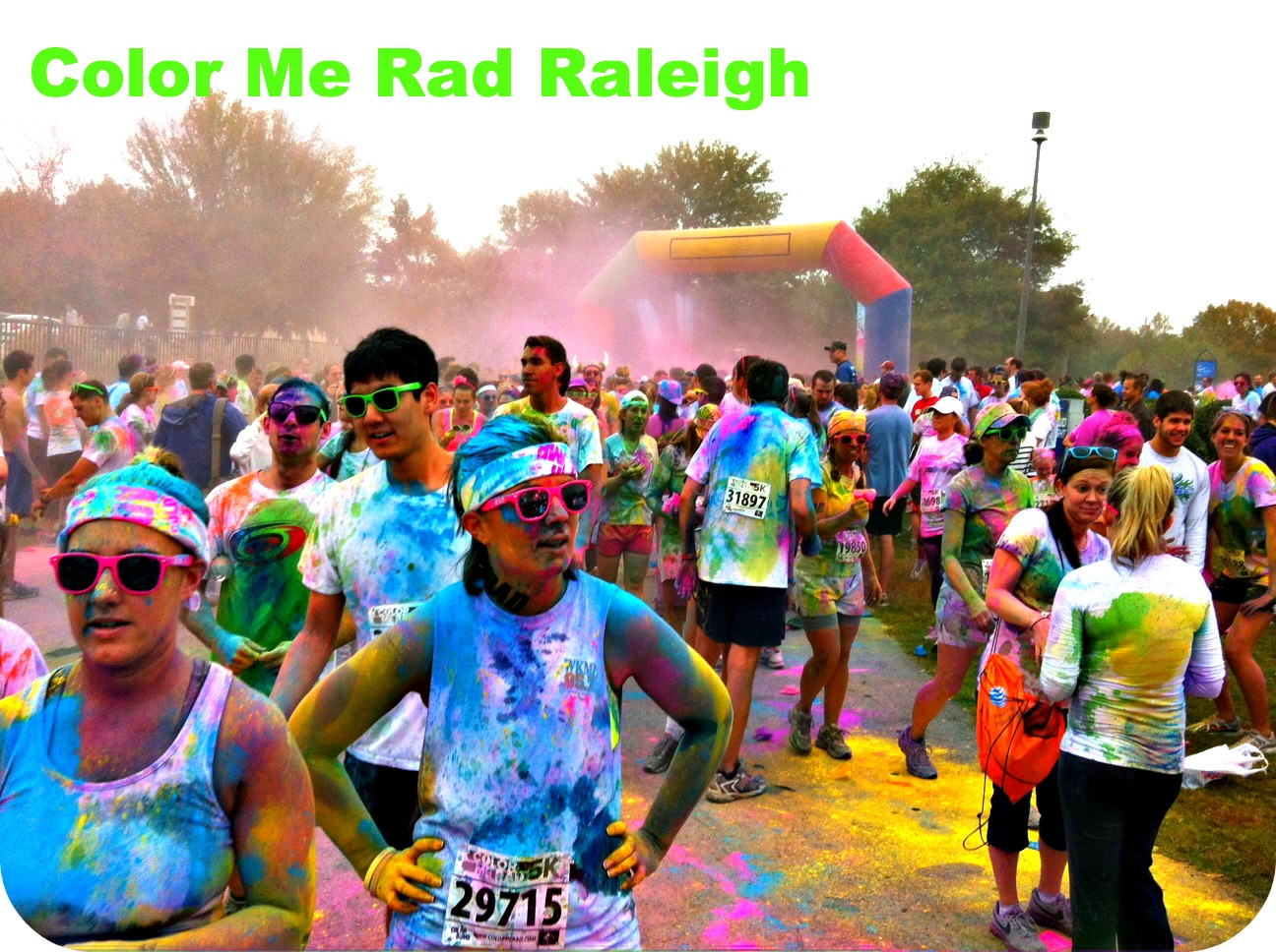 colormeradraleigh Color Me Rad 5K, Cool Ideas For The Messiest Race Going