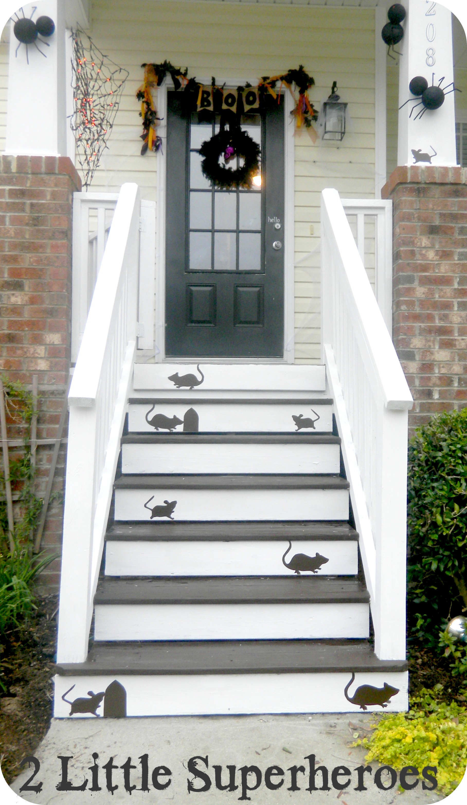 front porch1 Mouse Stairs