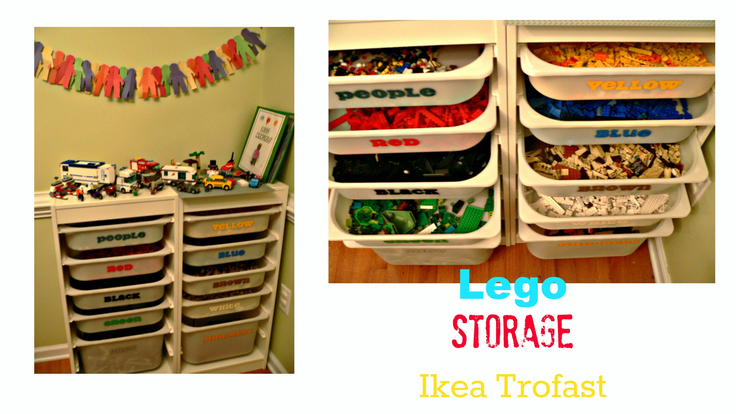 The Ultimate Lego Storage 2 Little Supeheroes2 Little