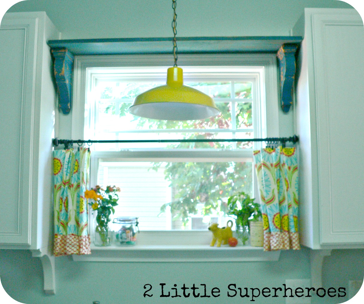 My Thrifty Kitchen Shelf - 2 Little Supeheroes2 Little Supeheroes