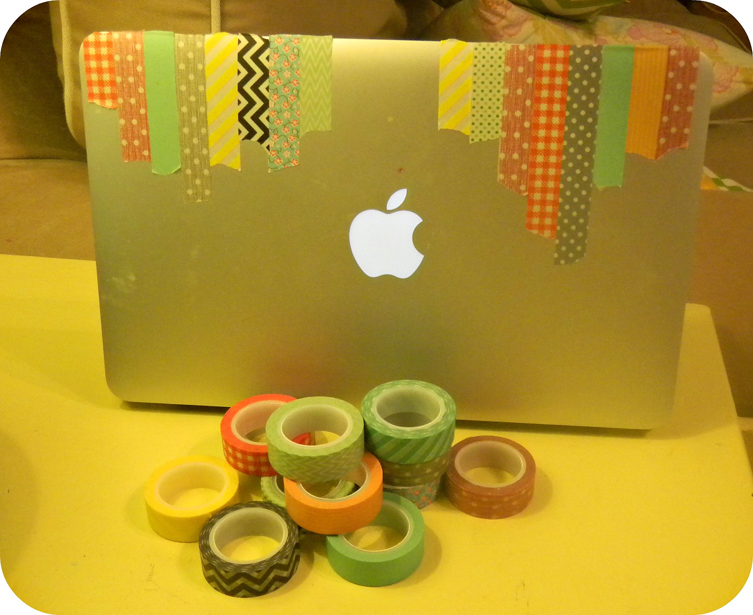 openlaptop Washi Tape Laptop Makeover