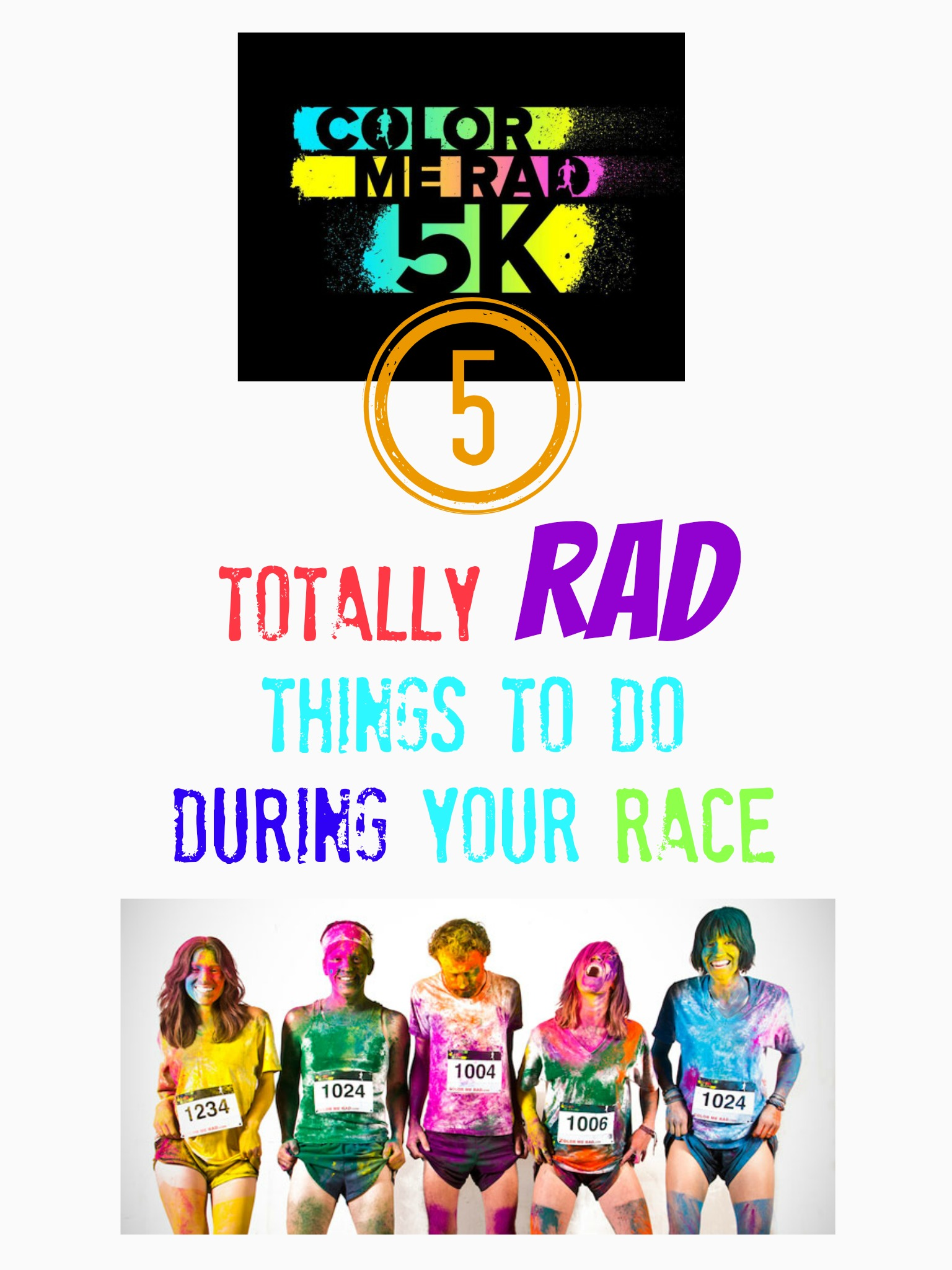 pinterestcolormerad Color Me Rad 5K, Cool Ideas For The Messiest Race Going