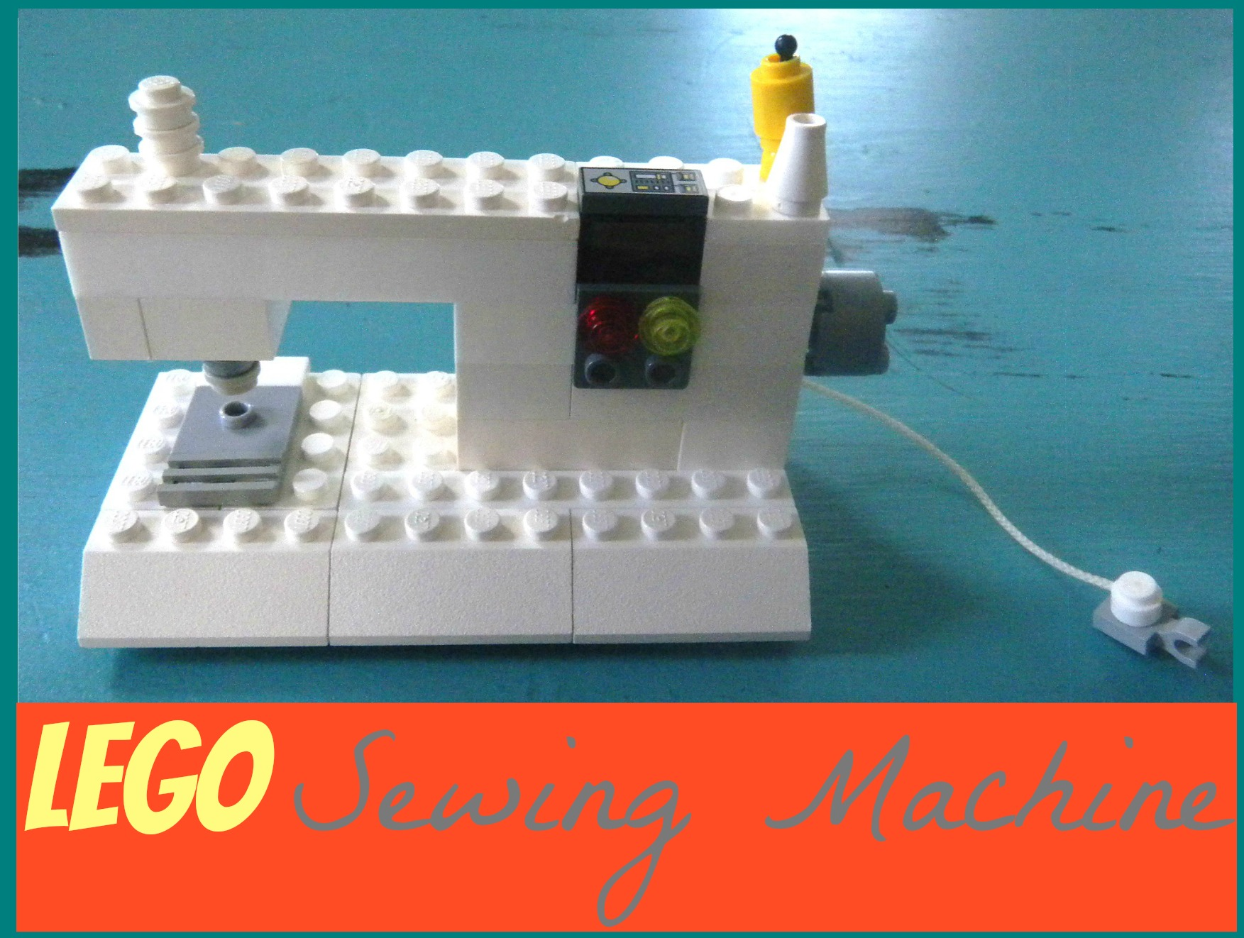 sewingmachinecover LEGO Sewing Machine
