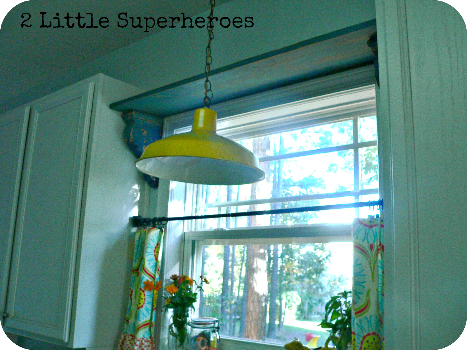 My Thrifty Kitchen Shelf 2 Little Supeheroes2 Little Supeheroes
