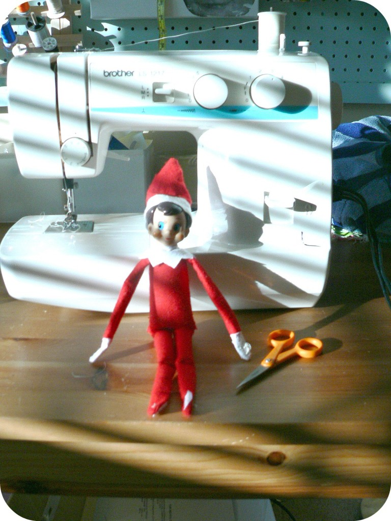 elfsewingmachine 768x1024 Operation Elf on the Shelf