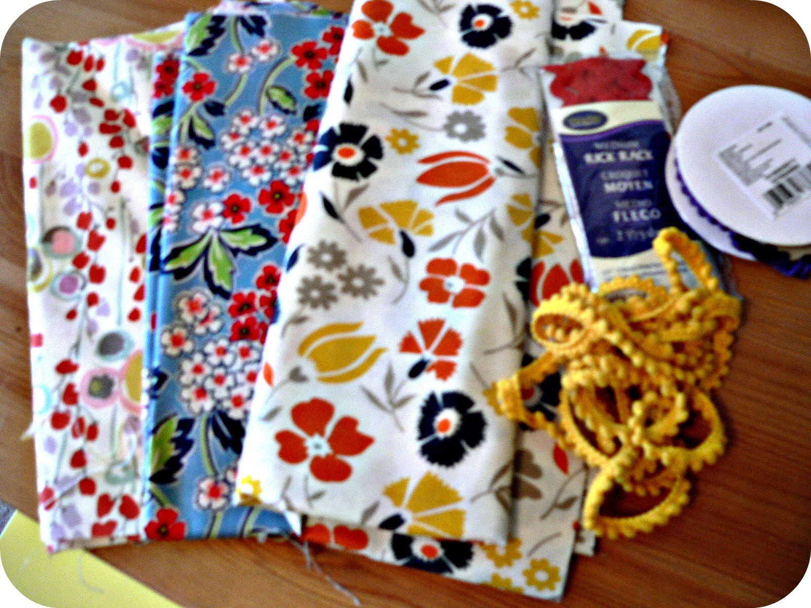 fabric DIY Thanksgiving Napkins