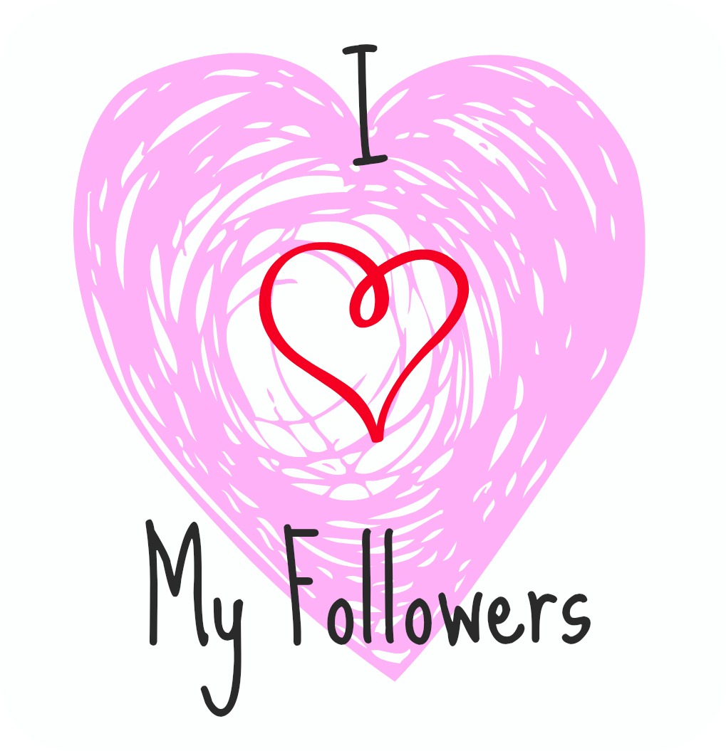 ilovemyfollowers Thanks For Following Along Giveaway