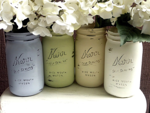 painted masonjars Not Your Typical Teacher Gifts