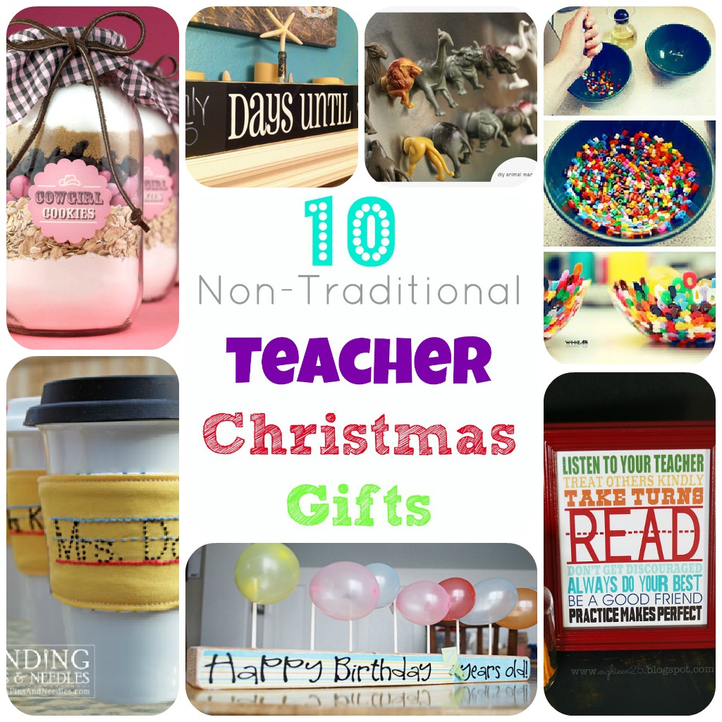 teachergiftcollage Not Your Typical Teacher Gifts