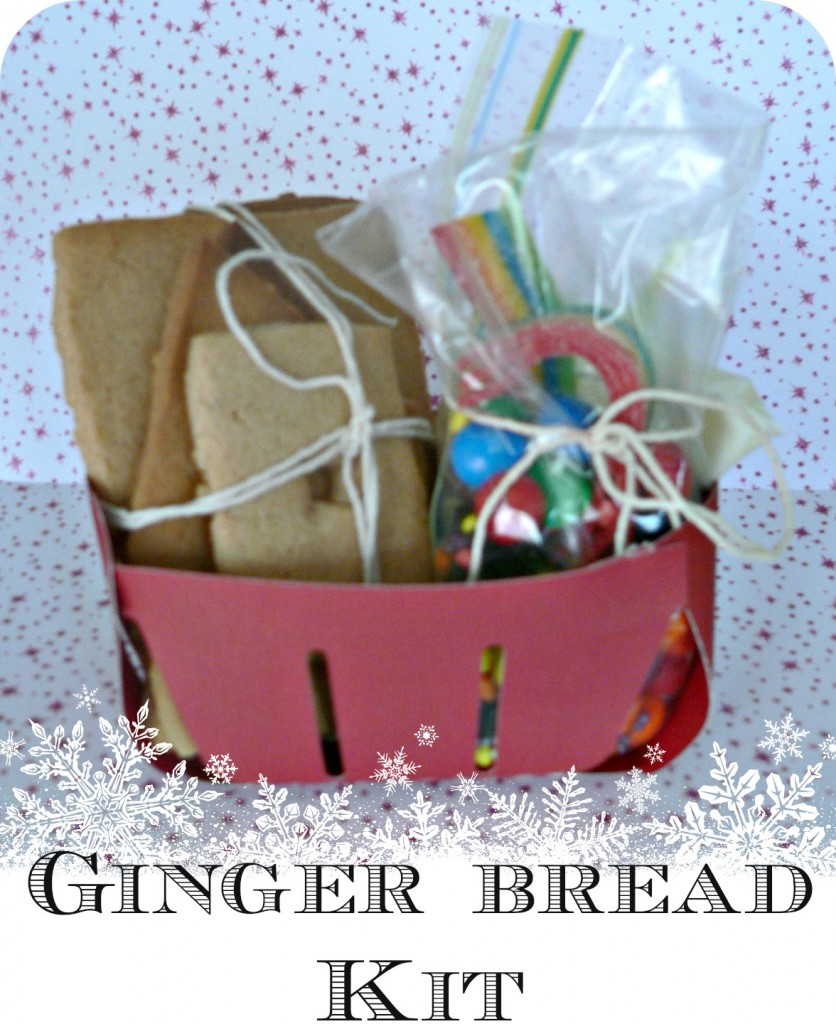 gingerbreadkit 836x1024 Ginger Bread House Kit