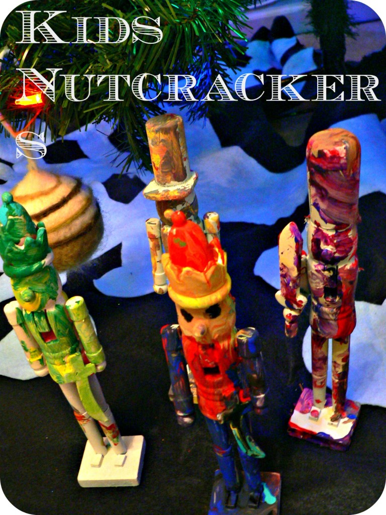 kidsnutcracker 768x1024 Dollar Store Nutcracker Craft