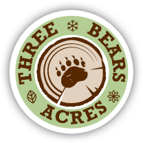 logo Three Bears Acres, Creedmoor NC