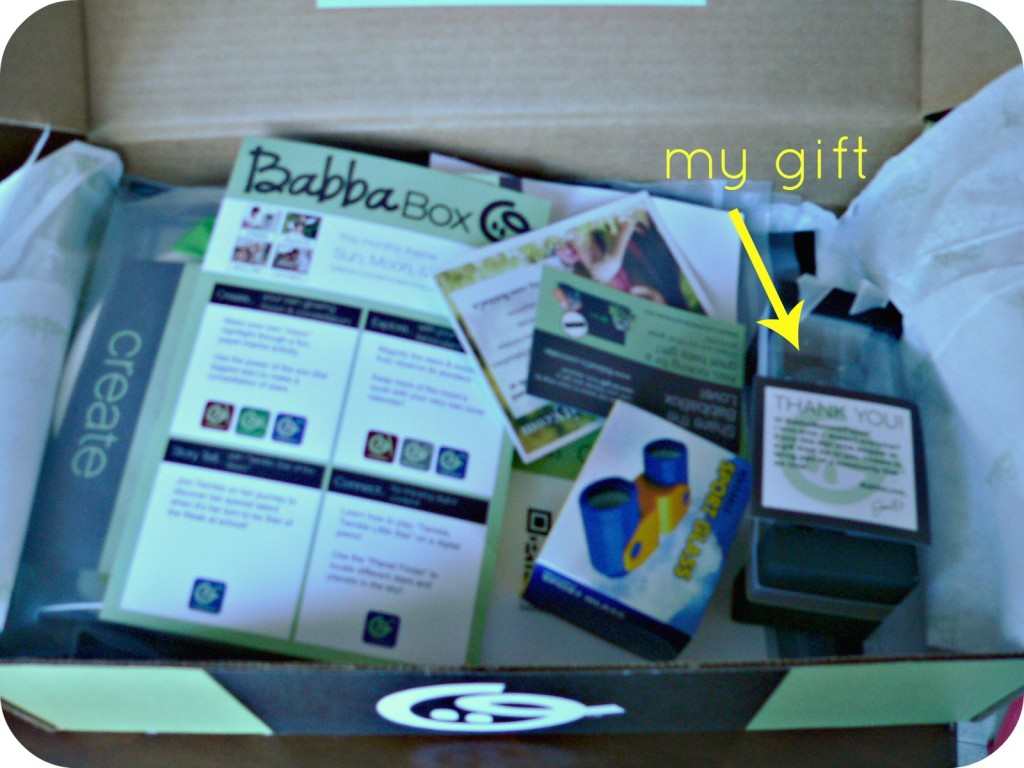 mygift 1024x768 Babbabox: Crafty Goodies Delivered Right to Your Door