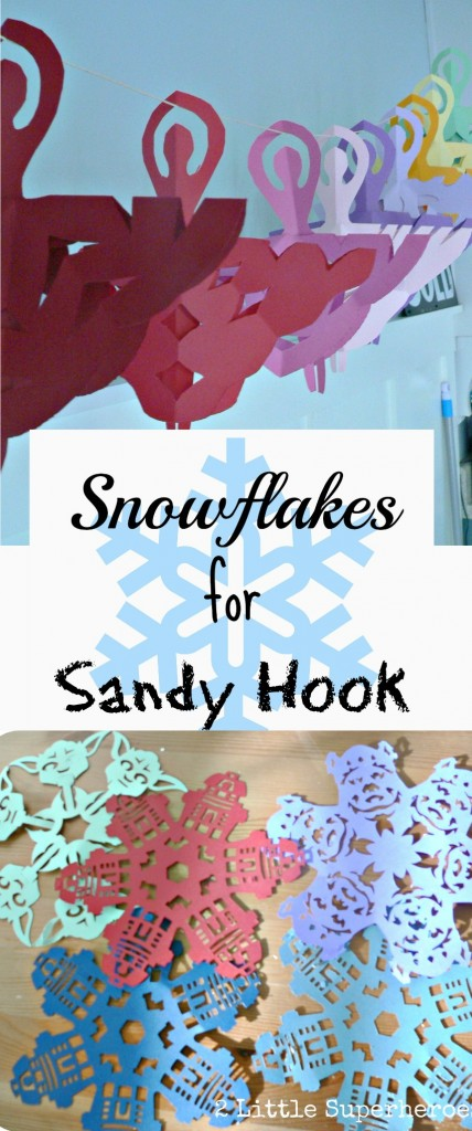 snowflakespinterest 428x1024 Snowflakes for Sandy Hook