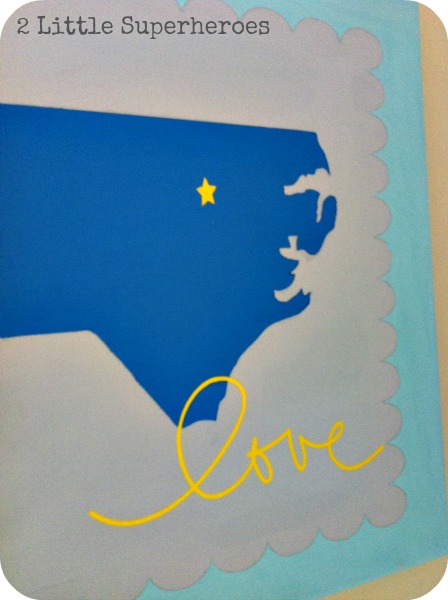 artlove DIY North Carolina Art