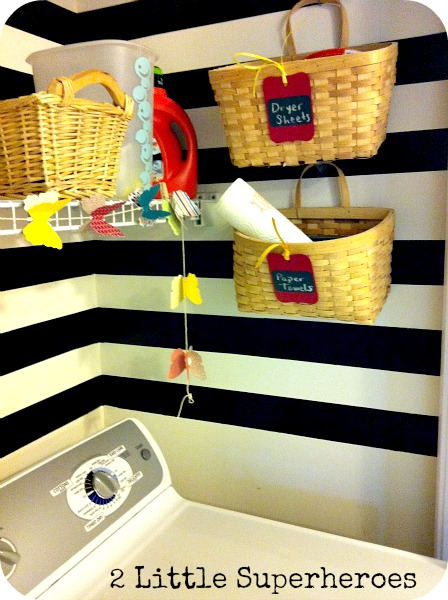 laundrybaskets My Completely Free Laundry Room Makeover