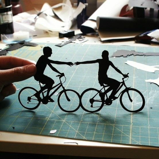papercutbike Paper Cutting for Dummies