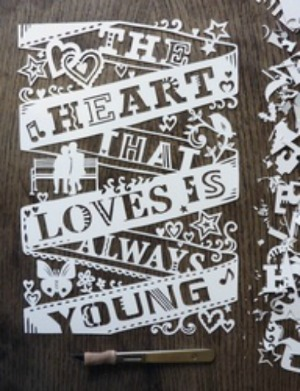 theheart1 Paper Cutting for Dummies