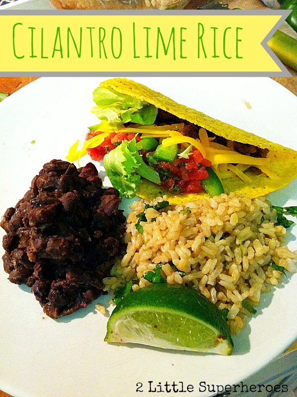 cilantro lime rice Cilantro Lime Rice And Beans