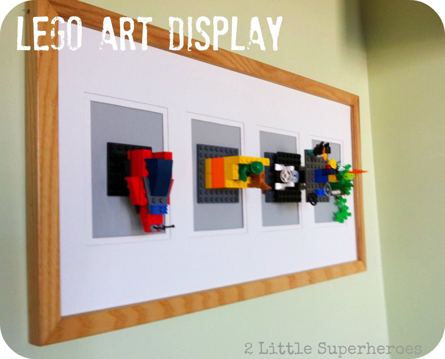 legoartdisplaypinterest Lego Art Display