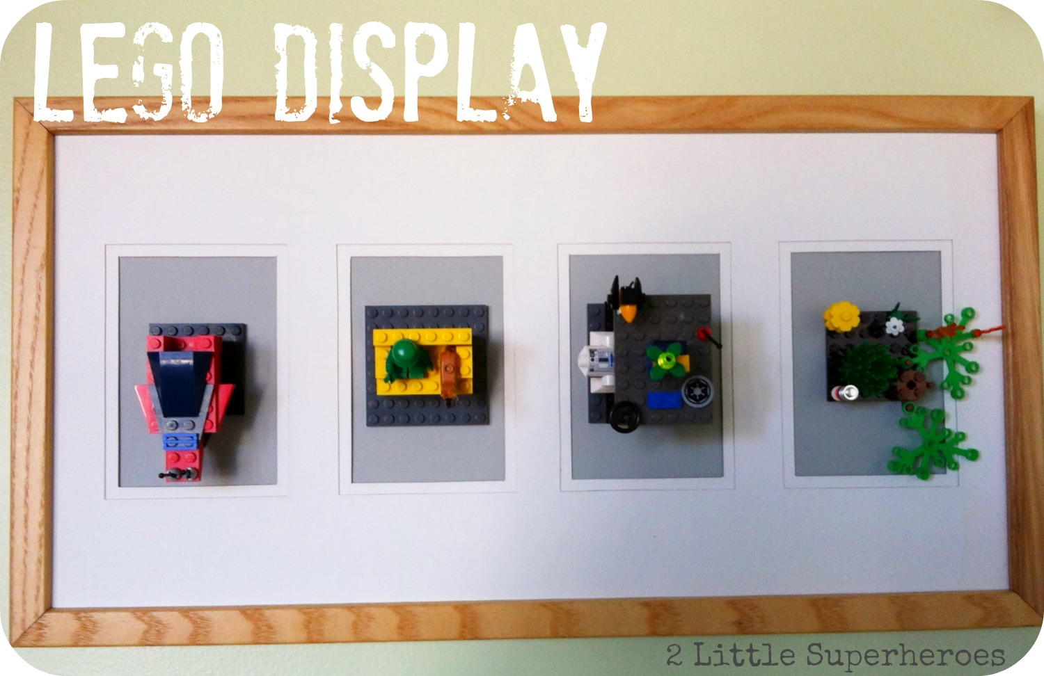 legodisplay1 Lego Art Display