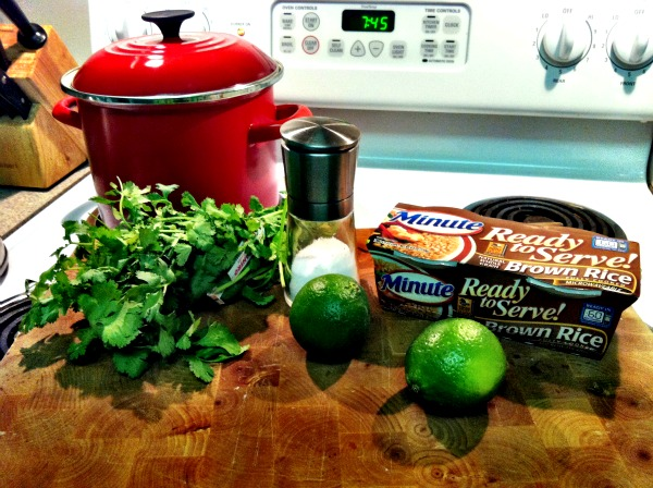 rice ingredients Cilantro Lime Rice And Beans