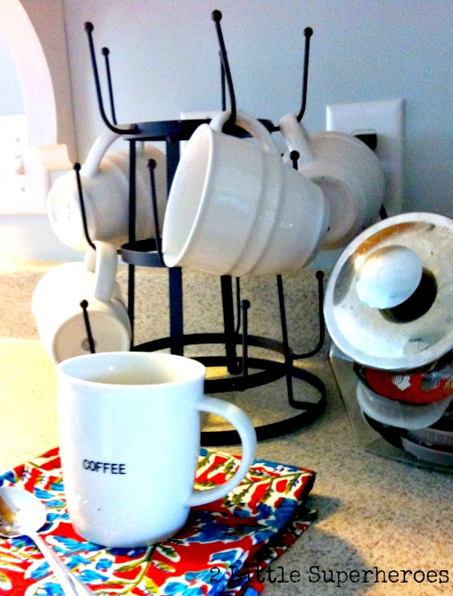dryingrack Coffee Station (& My World Market Finds)