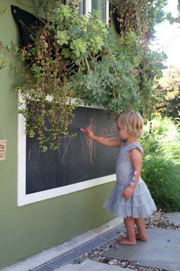 Danielle, thanks for the tips and the idea for the outdoor chalkboard. That's something quite a few of our clients would love to have in thier backyard. Thanks for sharing.
