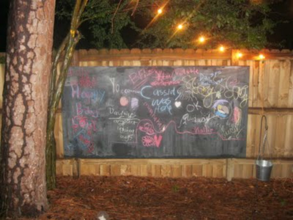 outdoor chalkboard 3 How to Prevent Your Outdoor Chalkboard from Rotting