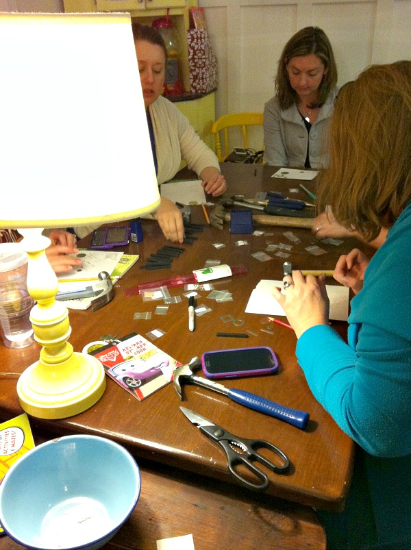 host a craft night Hosting A Hand Stamped Jewelry Craft Night