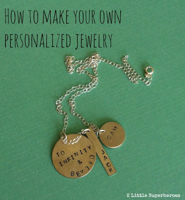 how to make your own personalized jewelry Hosting A Hand Stamped Jewelry Craft Night (& a Giveaway)