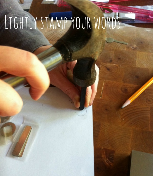 lightly stamp your words Hosting A Hand Stamped Jewelry Craft Night