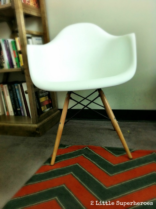 overstock chair Modern Office Makeover