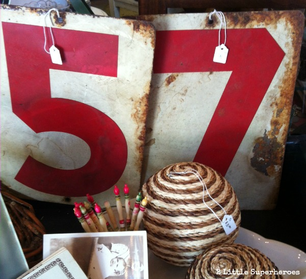 where to find number signs Raleigh Antique Stores
