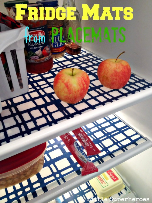 diy fridge mats Fridge Mats from $2 Placemats