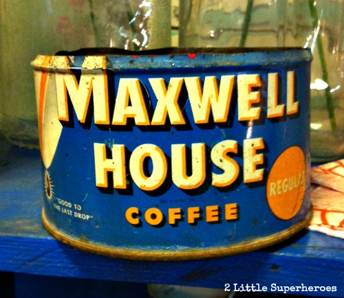 old coffee tin Top 5 Vintage Finds