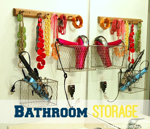 bathroom storage1 Bathroom Organization Ideas