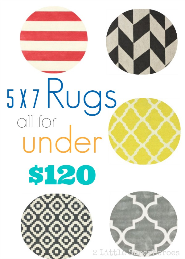 discount rugs Modern Rugs for Under $120