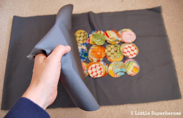 diy pillow form Circle Pillow