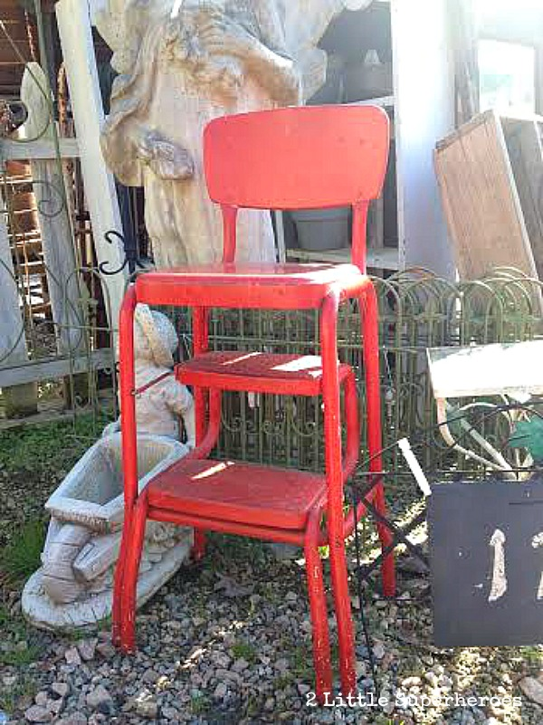 painted-red-stool