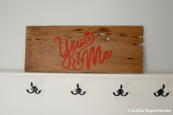 you and me sign.jpg My Source for Weathered Wood
