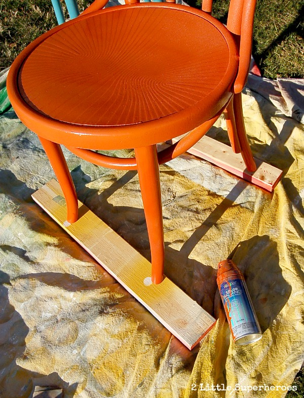 tips for painting chairs.jpg Painted Flea Market Chairs