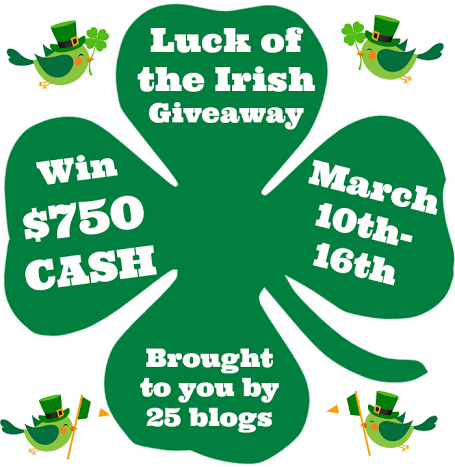 unnamed 6 Luck of the Irish Giveaway $750