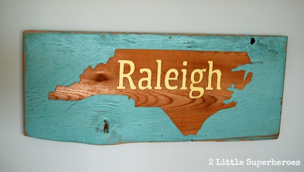 Raleigh sign.jpg The Salvage Sign