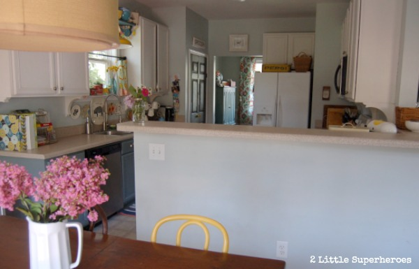 painted kitchen.jpg Painted Kitchen Makeover